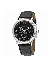 Montblanc Tradition Black Dial Chronograph Automatic Mens Watch 117047