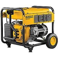 DeWALT DXGNR7000 7000 Watt Gasoline Portable Generator (Yellow) - Manufacturer Refurbished
