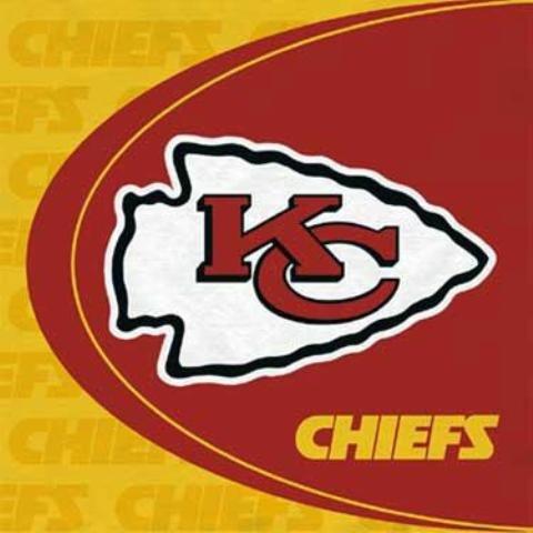 Kansas City Chiefs Lunch Napkins (16 count) -