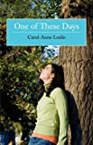 One of These Days, Carol-Anne Leslie, 1845493443