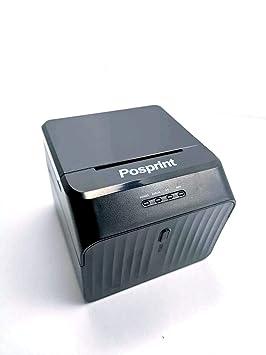 Impresora de Recibos térmica USB POSPRINT 58 mm Mini pequeña ...
