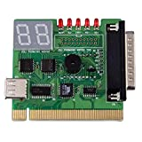 Nicewave Computer Motherboard PCI Test Machine and 2-Digit Computer Motherboard Test Machine Diagnostic Card Post Diagnosis External Display