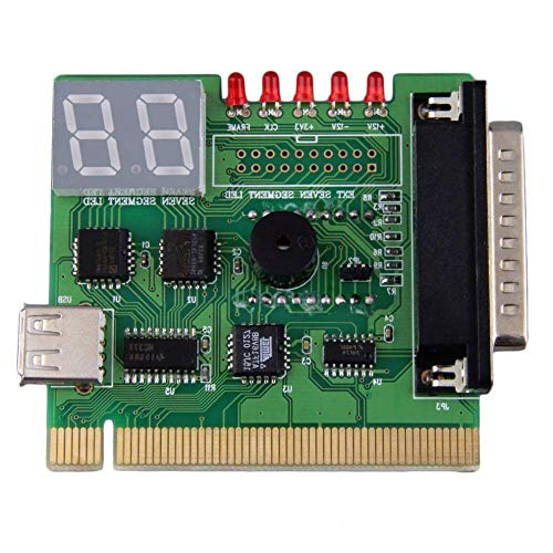 NicewaveComputer Motherboard PCI Test Machine and 2-Digit Computer Motherboard Test Machine Diagnostic Card Post Diagnosis External Display by Nicewave (Image #3)