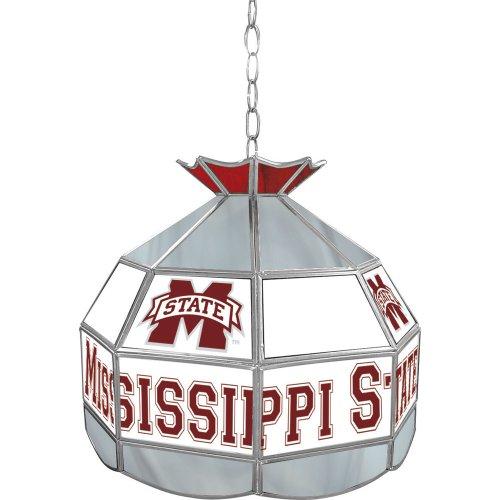 NCAA Mississippi State University Tiffany Gameroom Lamp, 16