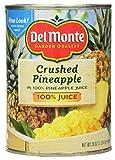 Del Monte CRUSHED PINEAPPLE in 100% Pineapple Juice 20oz (2 Pack)