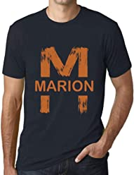 6ee4b0bc7 One in the City Men's Vintage Tee Shirt Graphic T Shirt Letter M Countries  and Cities