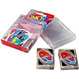 2018 New UNO Card Game Family Fun Poker Card Plastic Transparent Waterproof
