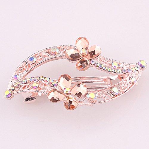 2015 New Fashion Women Hair Glass Diamond Hairpin Spring Crystal Rhinesone Design for Women Hair Clip Hair Pin Hair - 2015 Glasses Fashion