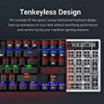 Redragon K552 Mechanical Gaming Keyboard RGB LED Rainbow Backlit Wired Keyboard with Red Switches for Windows Gaming PC…