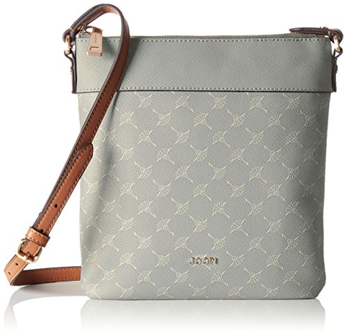 Joop! Cortina Dia Shoulderbag Mvz, Borsa a spalla Donna Grigio (Light Grey)