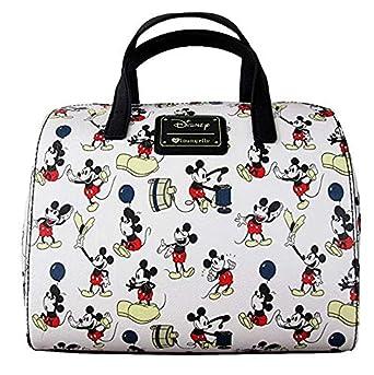 Sac à main Mickey pauses Disney forme bowling Beige EU
