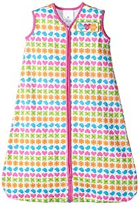 HALO SleepSack 100% Cotton Wearable Blanket, Print Girl, Small (Discontinued by Manufacturer)