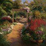The Garden (40in x 40in Art Print)