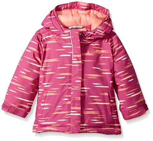 Columbia Girls' Big Horizon Ride Jacket, Deep Blush Lite Brite ()