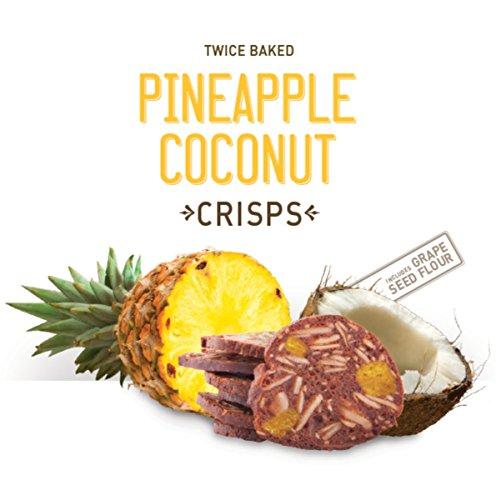 Wild Pineapple (Wild California Twice Baked Crunchy Crisps 5oz (Pineapple Coconut))