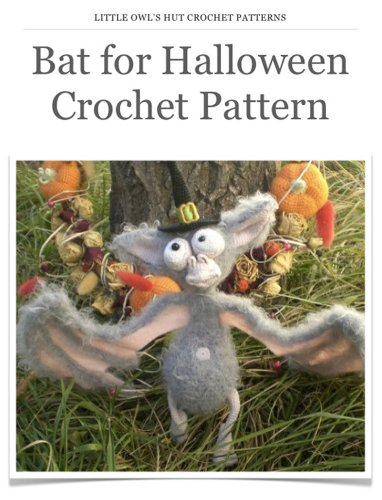 Halloween Bat Crochet Patterns (Bat for Halloween toy Crochet Pattern Amigurumi)