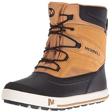 Amazon.com | Merrell Snow Bank 2.0 Waterproof Snow Boot