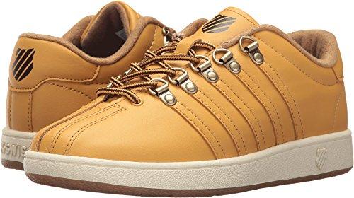 Antique Gold Footwear - K-Swiss Kids Unisex Classic VN (Big Kid) Amber Gold/Chocolate/Antique White 3.5 Big Kid M