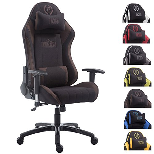 CLP Silla Gaming XL Shift en Tela I Silla Gamer con Reposapiés Abatible I Silla Racing