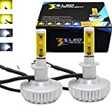 QuakeWorld H1 LED Headlight Bulb Conversion Kit 3000K/4300K/6500K/8000K/10000K Led Driving Light Fog lamp Fit Honda BMW Audi Acura Kia Lexus Nissan Volkswagen