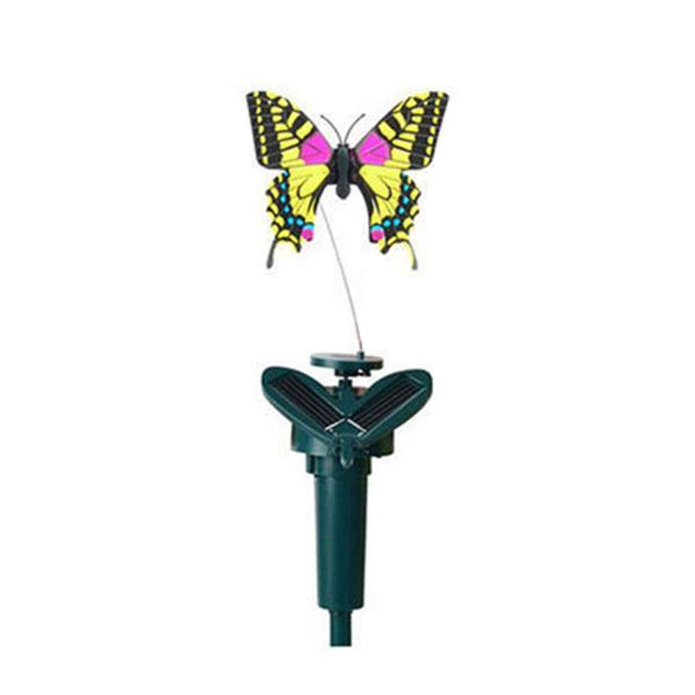 Cido Solar Volador Danza del poder Colibrí Mariposas agitando Decoración de jardín Juguetes