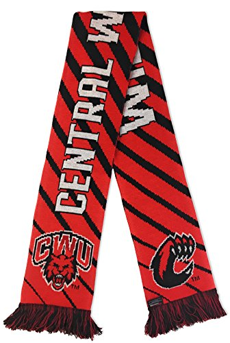 (RUFFNECK NCAA Central Washington University Wildcats Soccer Scarves, Red, One)