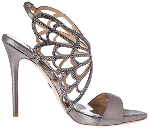 outlet lowest price Badgley Mischka Women's Newlyn II dress Sandal Pewter ebay sale online free shipping newest outlet cheap quality buy cheap best 9yqiH6bhT