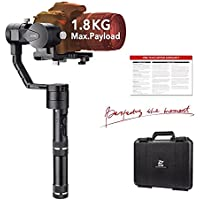 Zhiyun Crane V2 3-Axis Gimbal Stabilizer for Mirrorless Camera and DSLR Range from 0.77 Lb to 3.96 Lb, i.e. Canon M, Nikon J, Sony A7 and Panasonic GH4