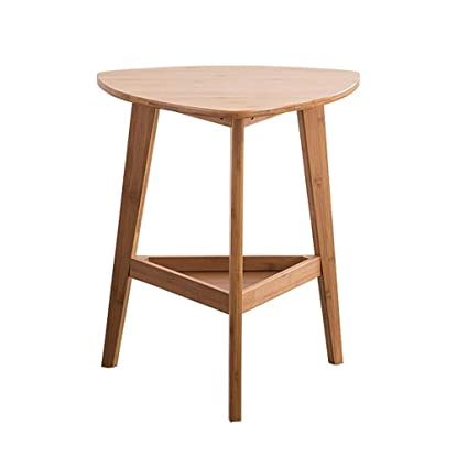 Awesome Amazon Com L Life End Tables Side Table Bamboo Triangle Home Interior And Landscaping Ologienasavecom