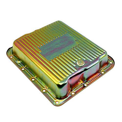 Assault Racing Products A7599Z GM 700R4 4L60E Zinc Transmission Pan Stock Capacity Automatic Trans 4L60 4L65E