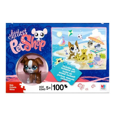 Littlest Pet Shop Boxer (Littlest Pet Shop 100 Piece Puzzle with Boxer Dog)