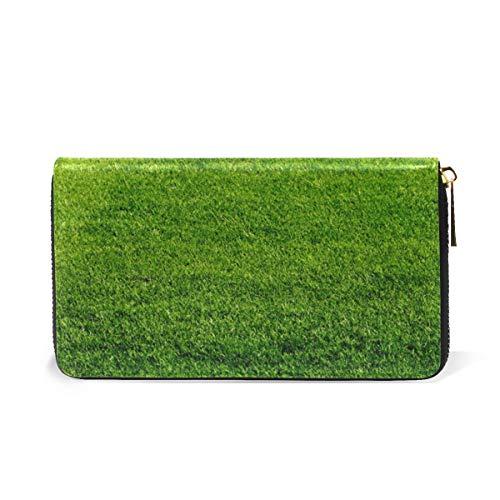 Organizer Field TIZORAX Womens And Wallet Purses Football Around Zip Handbags Clutch f4f5rXq