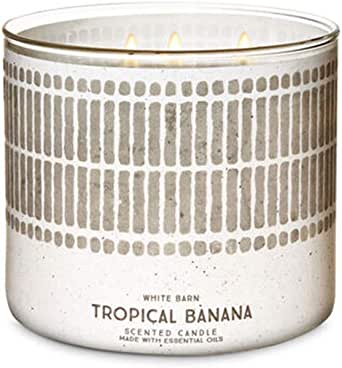 Amazon.com: Bath and Body Works White Barn Banana Cabana 3 ...