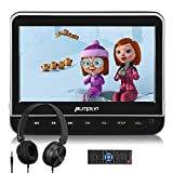 PUMPKIN 10.1'' Car Headrest DVD Player with Headphone, Support HDMI Input, 1080P Video, AV in/Out, Region Free, USB/SD, Last Memory