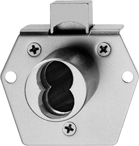 Best Access Systems 5L7RD2626 5L Cabinet Lock, Brass