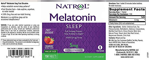Natrol Melatonin Fast-Dissolve Tablets