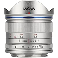 Venus Laowa 7.5mm f/2 Lens Lightweight for Micro Four Thirds Mount, Silver