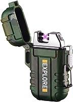 lcfun Waterproof Windproof Lighter Dual Arc