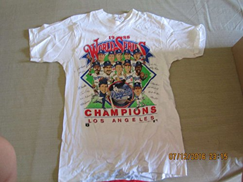 1988 World Series Los Angeles Dodgers Team picture Medium T shirt by PandR publications