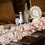 Oceanpax-Artificial-Cherry-Blossom-6pcs-Silk-Flower-Garland-Pink-Hanging-Vine-for-Wedding-Party-Home-Decoration