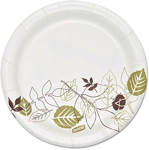 Wholesale CASE of 15 - Dixie Foods Hvywt Soak Proof Sheild Paper Plates-Paper Plate, 5-7/8