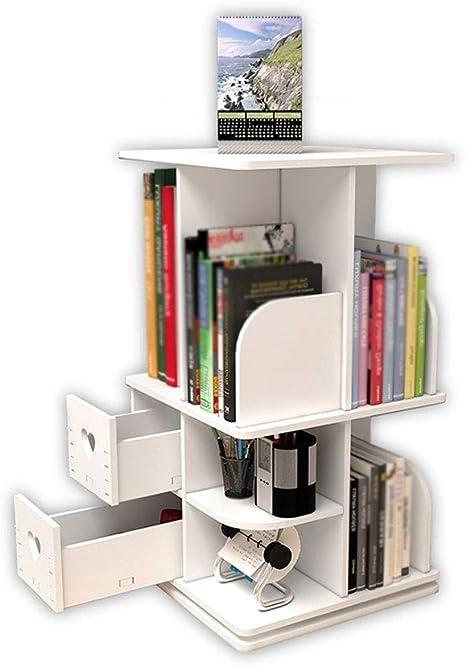 ZHslj Estante para Libros - Estantes de Mesa giratorios de ...