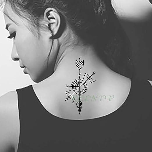 ljmljm 3 Unids Moda Impermeable Etiqueta Engomada del Tatuaje ...