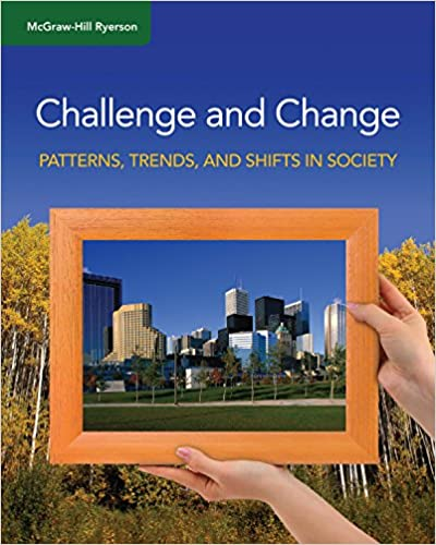 /& Shifts in Society Challenge and Change: Patterns Student Edition Trends