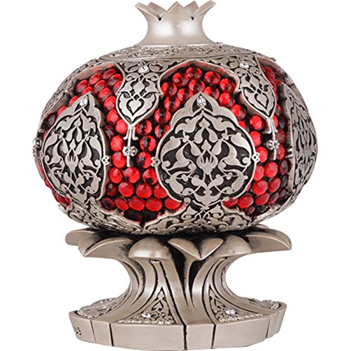 Islamic Home Table Decor Pomegranate Design -Pearl Tone by Interway Trading