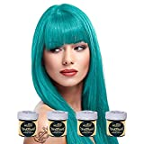directions La Riche Directions Semi-Permanent Hair Colour Dye Box Of Four-Turquoise