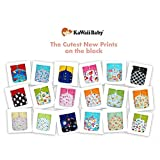 NEW! 18 KaWaii Baby Printed Snap One Size Pocket Cloth Diaper Shells (8-36 lbs)