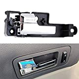 Wadoy 6E5Z5422601A Interior Door Handle Front Left (Driver-Side) Chrome Fits for 2006-2010 Ford Fusion / 2007-2010 Lincoln MKZ / 2006 Lincoln Zephyr / 2006-2010 Mercury Milan (Replaces 6E5Z-5422601-A)