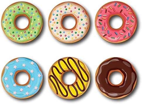 Nourish Donut Fridge Magnets