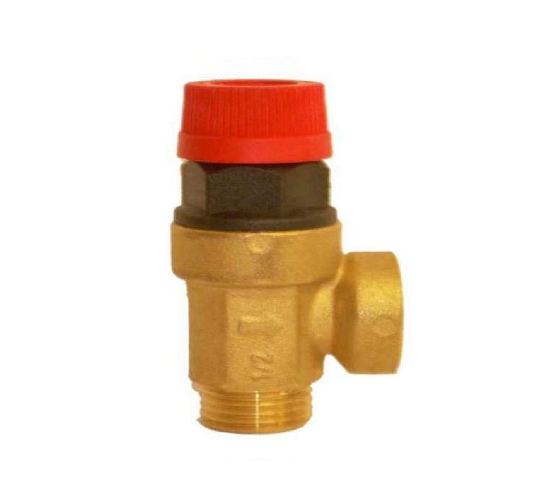 Válvula de alivio de presión de seguridad para caldera de 1/2 pulgadas MxF BSP Wärmer System Varias presiones 3 BAR